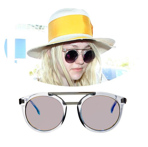 Дакота Фаннинг; очки Le Specs, 2736 р.