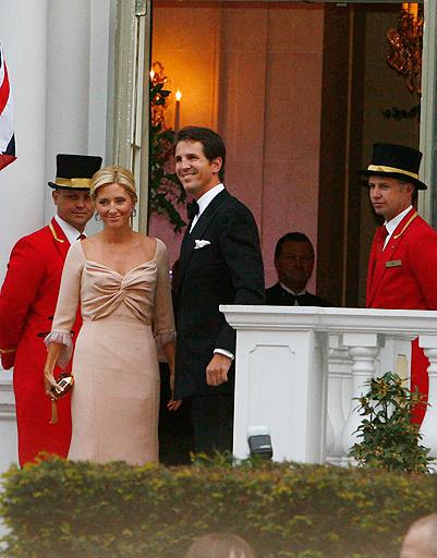 Греческий принц Павлос и принцесса Мария-Шанталь