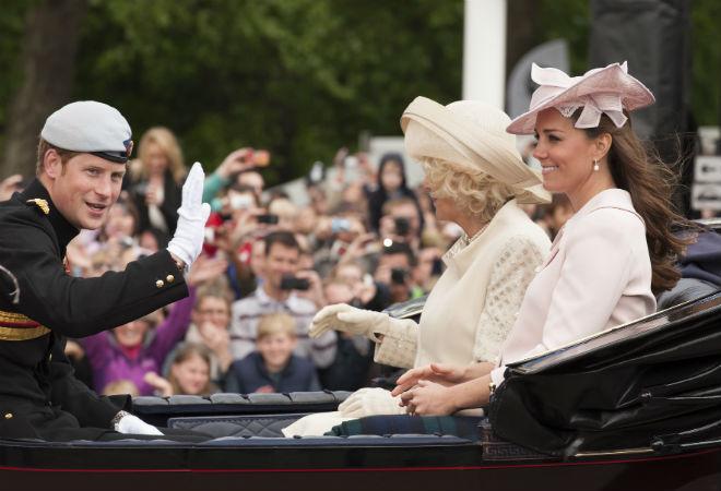 Королевская семья Великобритании фото