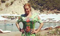 Волочкова ходит по Турции без белья