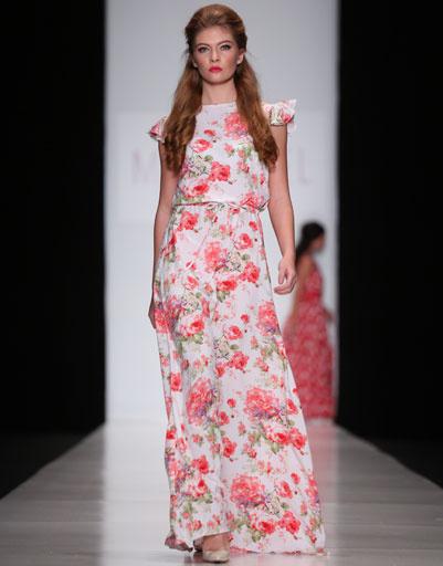 Mercedes-Benz Fashion Week Russia: коллекция Mari Axel весна-лето 2013