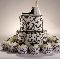 Как менялись свадебные торты за 100 лет