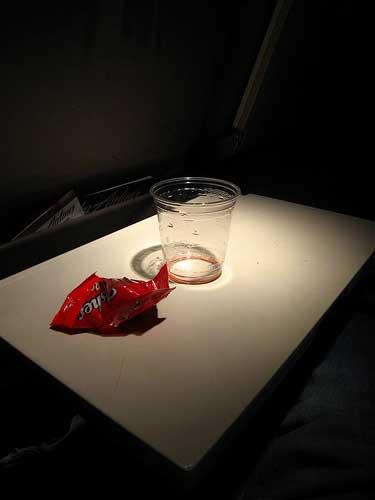 алкоголь в самолете