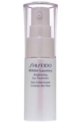 Осветляющий крем для век White Lucency от Shiseido увлажняет кожу, регулирует выработку меланина и улучшает циркуляцию крови