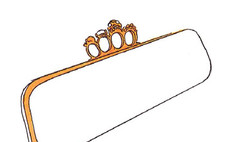 Alexander McQueen создал клатч для своих российский поклонников