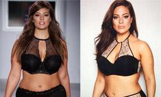 Plus-size модель Эшли Грэм похудела. И ее затравили!