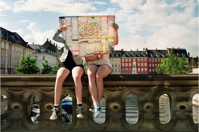Путешественницы с картой