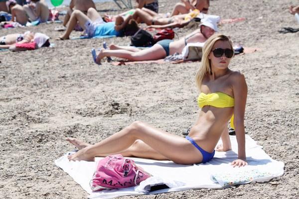 Волгоград, пляжи, открытие купального сезона 2015