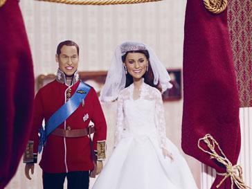 Из Кейт Миддлтон (Kate Middleton) сделали куклу
