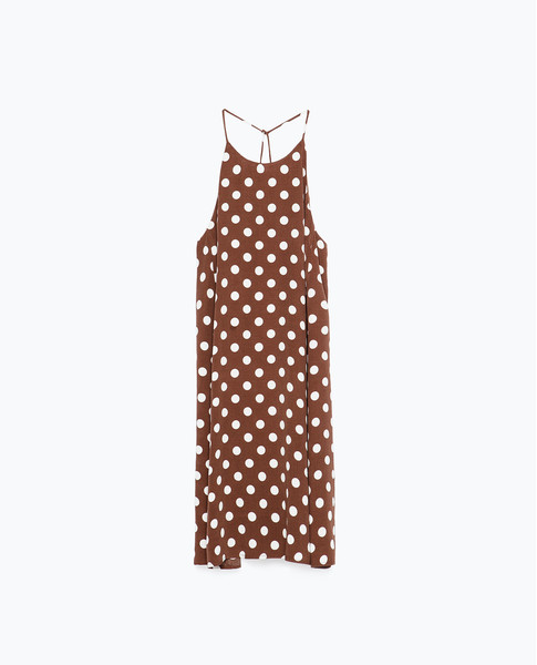 Платье Zara, 1999 рублей (с учетом скидки)
