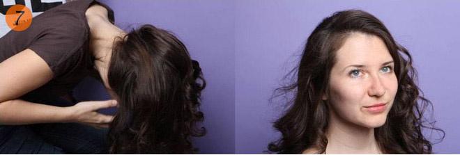как сделать утюжком для волос локоны
