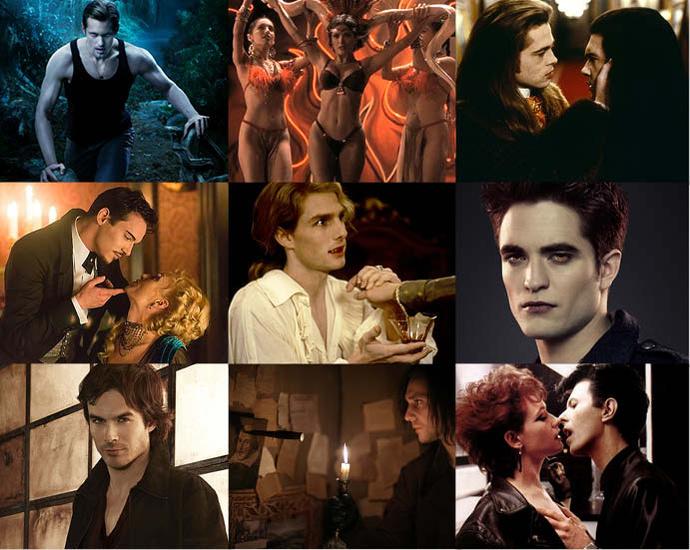 Самые сексуальнае вампиры мира