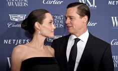Питт признался, что отношения с Джоли спас штамп в паспорте