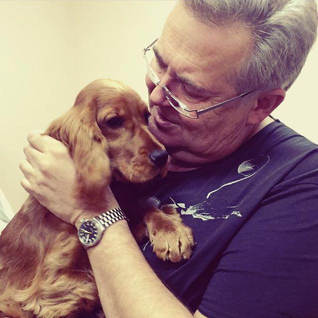 Юрий Стоянов в Томске выступил с собакой