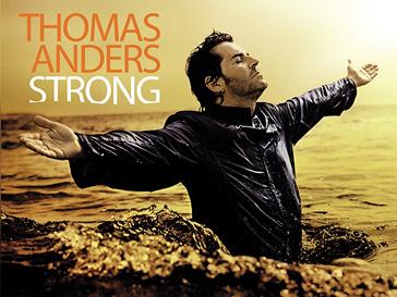 Обложка нового альбома Томаса Андерса« Strong»