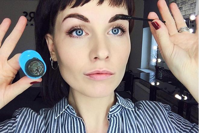 Как правильно красить брови в домашних условиях: инструкция видео