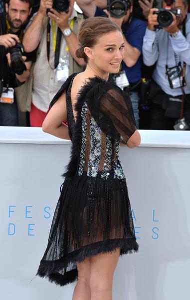 Натали Портман на Каннском кинофестивале 2015