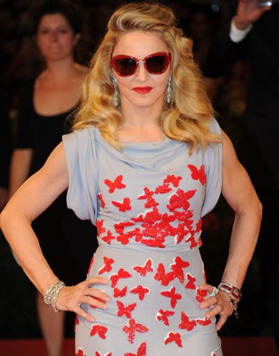 Мадонна в платье от Vionnet.