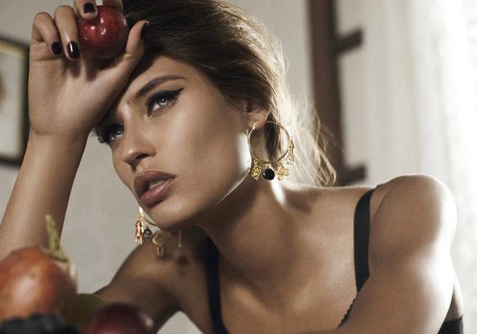 В рекламной кампании Dolce & Gabbana