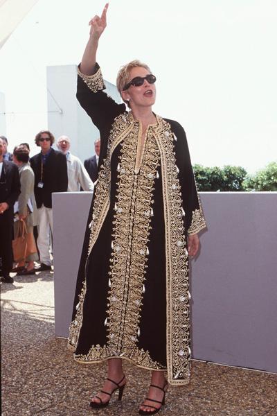 Шэрон Стоун в Каннах, 1998 год