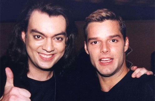 Филипп Киркоров и Рики Мартин (Ricky Martin)