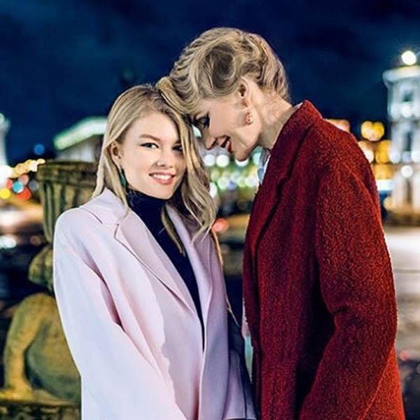Рената Литинова с дочерью фото