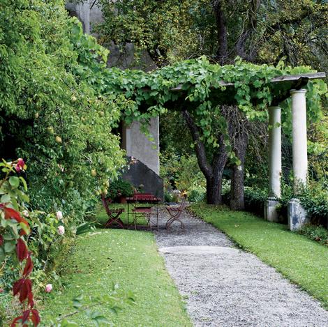 Садовые дорожки: практичные советы | галерея [1] фото [4]