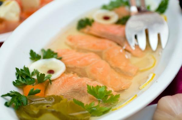 Заливное из рыбы: рецепт