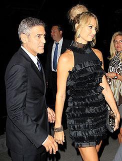 Джордж Клуни (George Clooney) Стейси Киблер (Stacy Keibler)