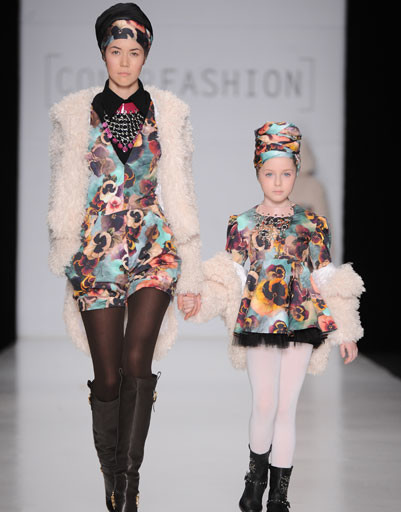 Показ коллекции CONTRFASHION осень-зима 2013/14 на Mercedes-Benz Fashion Week Russia