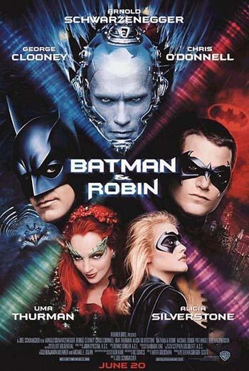 Постер к фильму Джоэла Шумахера «Бэтмен и Робин»