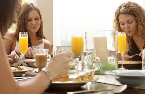 Завтрак 1-го января