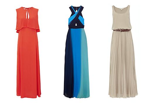 Фото вечерних летних платьев: Asos, Alice+Olivia, Michael Kors