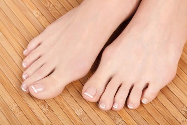 Сухость кожи ног