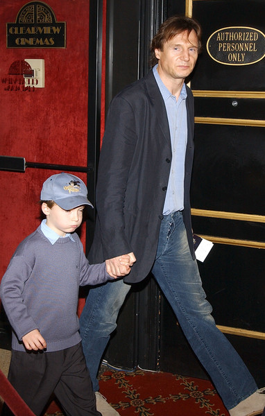 Лиам Нисон с сыном фото