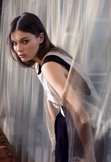 Платье из плотного шелка, Rue du Mail.
