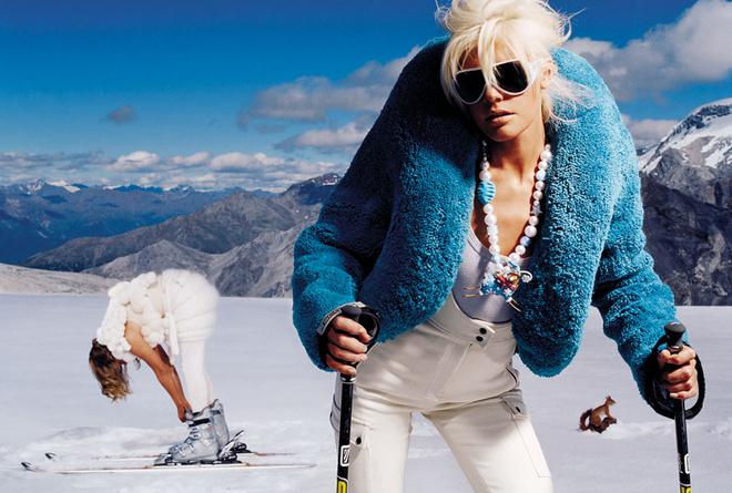 занятия горными лыжами