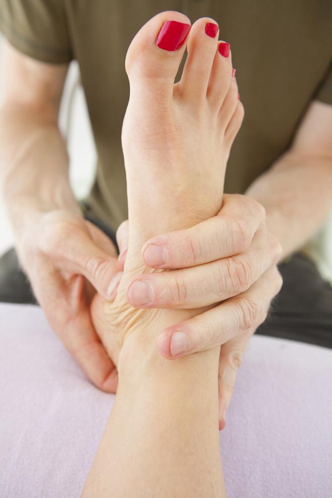 Лимфодренажный массаж ног самому