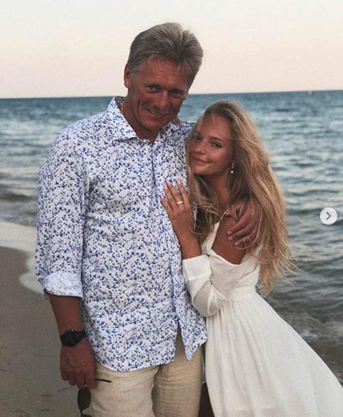 Дмитрий Песков с дочерью Елизаветой фото