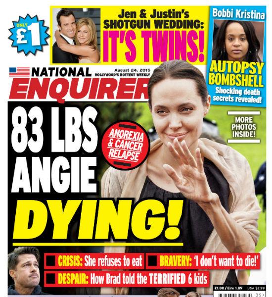 Анджелина Джоли сильно похудела фото
