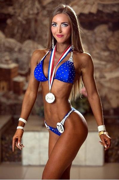 Лариса Ульянова, фитнес-бикини модель, г. Красноярск