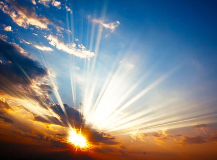 солнечный свет фото