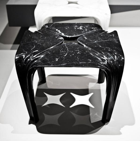 Мраморные вазы и столы от Захи Хадид   галерея [1] фото [13]