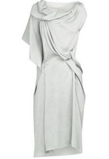 Платье RM by Roland Mouret холодного оттенка белого.