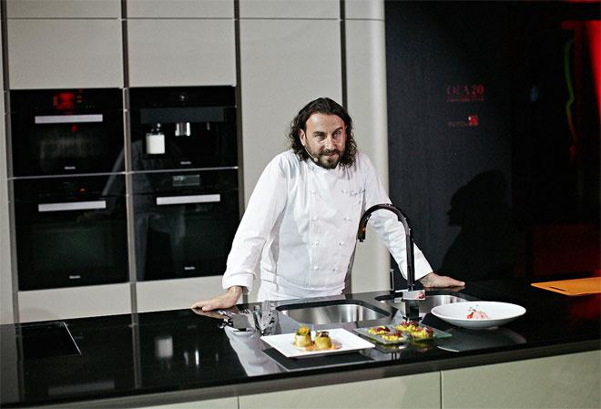 Шеф-повар ресторана «Сыр» Мирко Дзаго