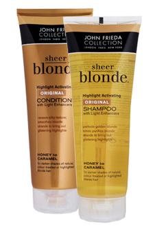 Шампунь и кондиционер John Frieda разработан специально для светлых волос. Разглаживает локоны, делая их мягкими и шелковистыми.