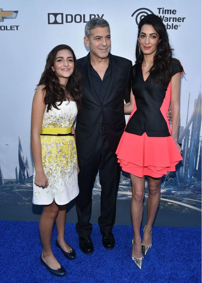 Амаль Клуни в Antonio Berardi