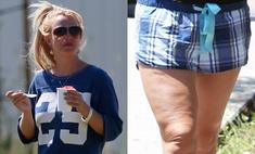 Апельсиновая корка: Бритни Спирс страдает от целлюлита