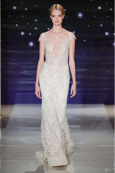 50 самых красивых платьев со Свадебной Недели Моды в Нью-Йорке | галерея [1] фото [21]