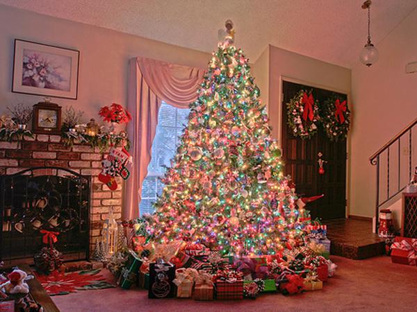 Как украсить елку: фото